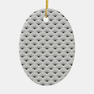 Ornamento De Cerâmica Art deco
