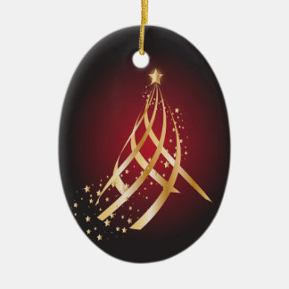 Ornamento De Cerâmica Árvore de fita