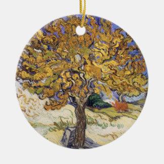 Ornamento De Cerâmica Árvore de Mulberry de Vincent van Gogh |, 1889