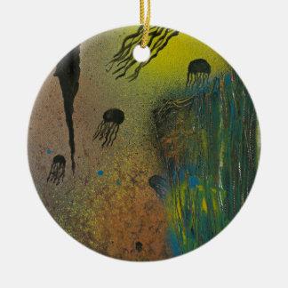 Ornamento De Cerâmica Ascensão das medusa