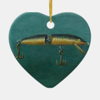 Ornamento De Cerâmica Atração dos peixes
