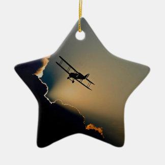 Ornamento De Cerâmica aviões