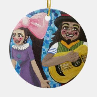 Ornamento De Cerâmica Azeitona e Dingo