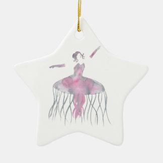 Ornamento De Cerâmica Bailarina das medusa - Genevieve