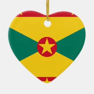 Ornamento De Cerâmica Baixo custo! Bandeira de Grenada