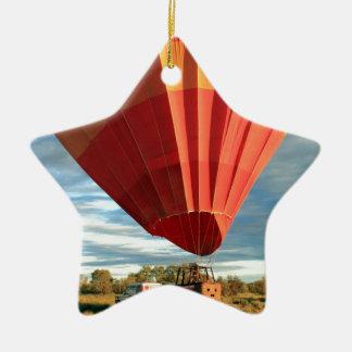 Ornamento De Cerâmica Balão de ar quente do interior, Austrália