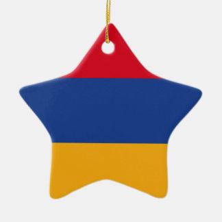 Ornamento De Cerâmica Bandeira arménia