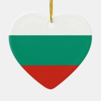 Ornamento De Cerâmica Bandeira búlgara