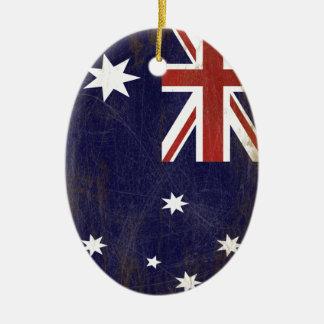 Ornamento De Cerâmica Bandeira da Austrália