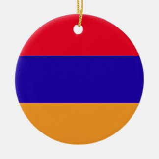 Ornamento De Cerâmica Bandeira de Arménia