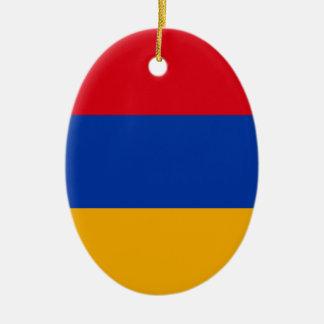 Ornamento De Cerâmica Bandeira de Arménia - Yeraguyn