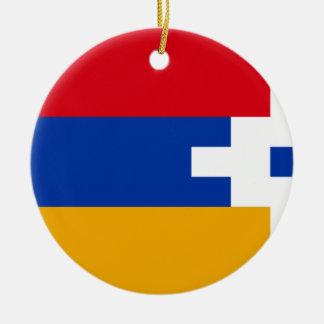 Ornamento De Cerâmica Bandeira de Artsakh (Nagorno-Karabakh)