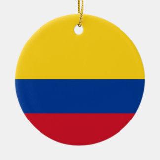 Ornamento De Cerâmica Bandeira de Colômbia