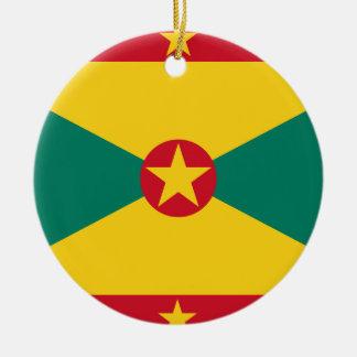 Ornamento De Cerâmica Bandeira de Grenada