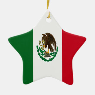 Ornamento De Cerâmica Bandeira de México