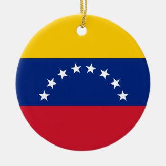 Ornamento De Cerâmica Bandeira de Venezuela