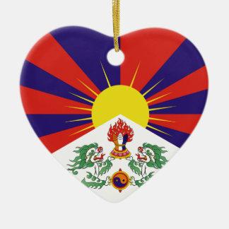 Ornamento De Cerâmica Bandeira livre de Tibet