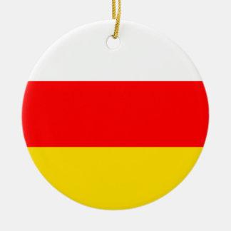 Ornamento De Cerâmica Bandeira sul de Ossetia
