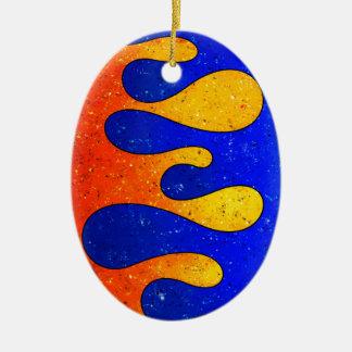 Ornamento De Cerâmica Belgofimo V1 - gotas loucas