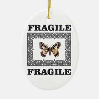 Ornamento De Cerâmica borboleta frágil