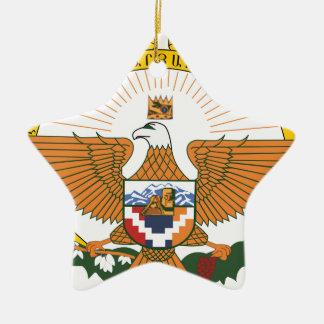 Ornamento De Cerâmica Brasão de Artsakh (Nagorno-Karabakh)