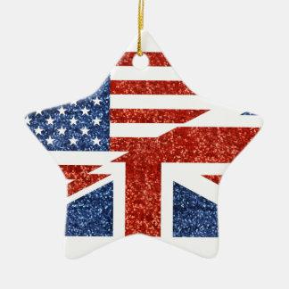 Ornamento De Cerâmica brilho EUA britânico