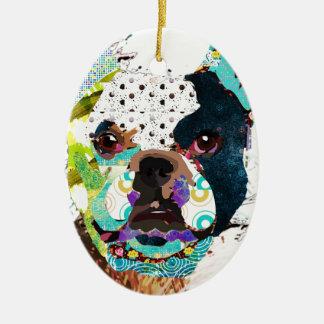 Ornamento De Cerâmica bulldog1.jpg
