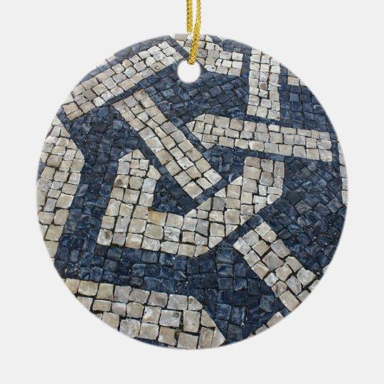 Ornamento De Cerâmica Calcada Portuguesa, Portuguese Pavement