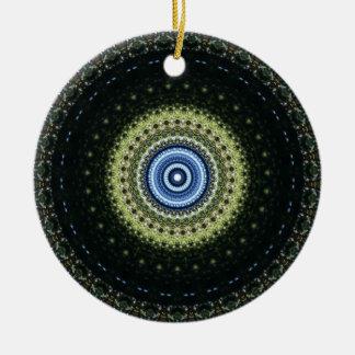 Ornamento De Cerâmica Caleidoscópio