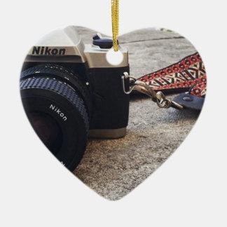 Ornamento De Cerâmica Câmera do filme de Nikon