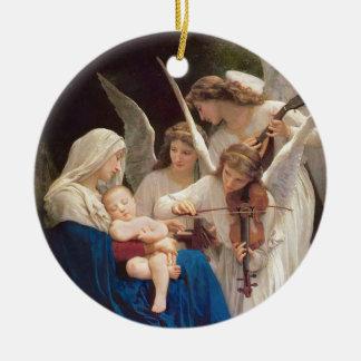 Ornamento De Cerâmica Canção dos anjos