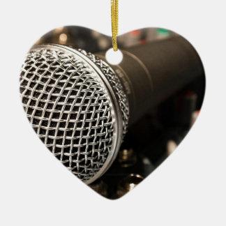 Ornamento De Cerâmica Canto do cabo do microfone do cabo do misturador