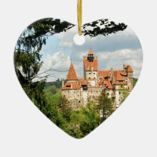 Ornamento De Cerâmica Castelo de Dracula na Transilvânia, Romania