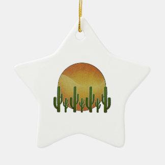Ornamento De Cerâmica Céus do Saguaro