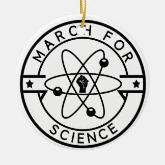 Ornamento De Cerâmica ciência do march_for