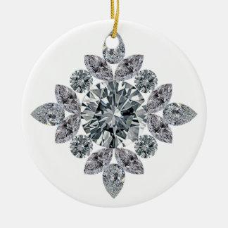 Ornamento De Cerâmica clássico-bling
