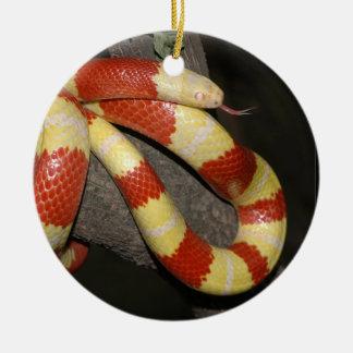 Ornamento De Cerâmica Cobra de leite