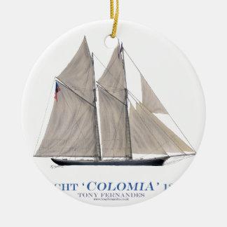 Ornamento De Cerâmica Colômbia 1871