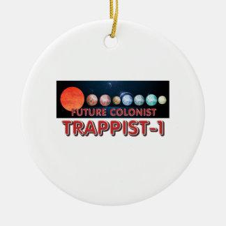 Ornamento De Cerâmica Colono do T Trappist-1