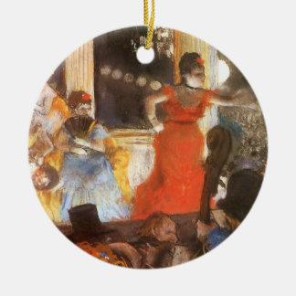 Ornamento De Cerâmica Concerto do café em Les Ambassadeurs por Edgar