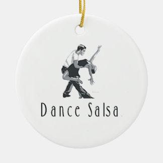 Ornamento De Cerâmica Dança SUPERIOR da salsa