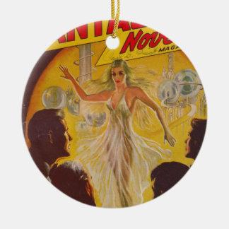 Ornamento De Cerâmica Danças com bolhas