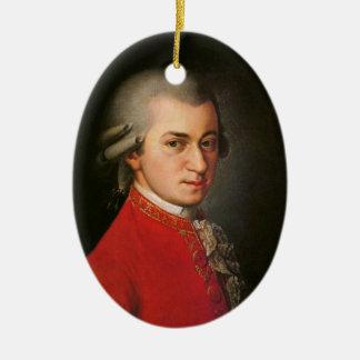 Ornamento De Cerâmica Decoração da música clássica do retrato de Krafft