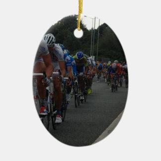 Ornamento De Cerâmica Decoração do ciclismo