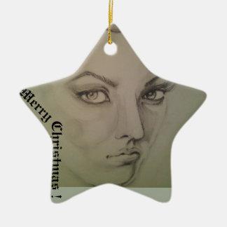 Ornamento De Cerâmica Decoração do Natal