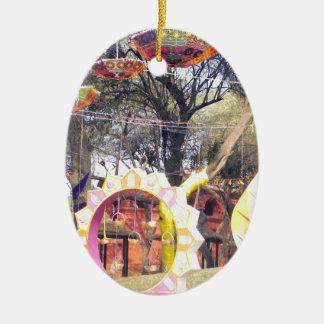 Ornamento De Cerâmica Decorações exteriores da árvore do partido do