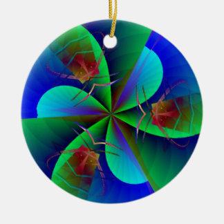 Ornamento De Cerâmica Deixe-nos reunir o sim do sim do sim