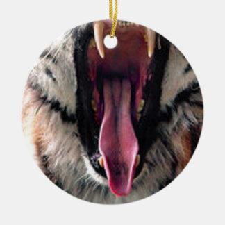 Ornamento De Cerâmica Dentes do rolamento do tigre