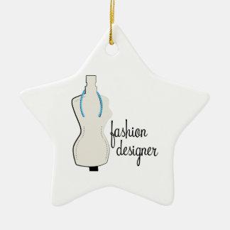 Ornamento De Cerâmica Desenhador de moda