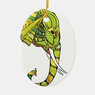 Ornamento De Cerâmica Design gráfico do elefante